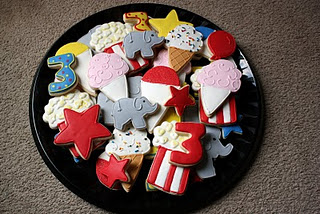 Carnival cookies